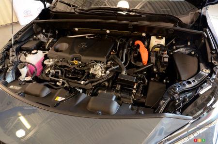 2021 Toyota Venza, engine