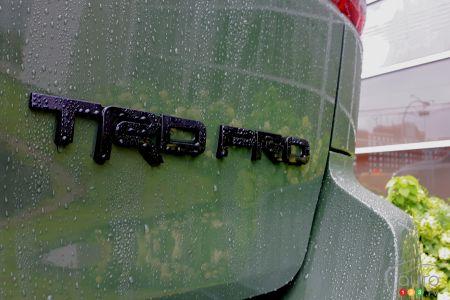 2020 Toyota Sequoia TRD Pro, badging