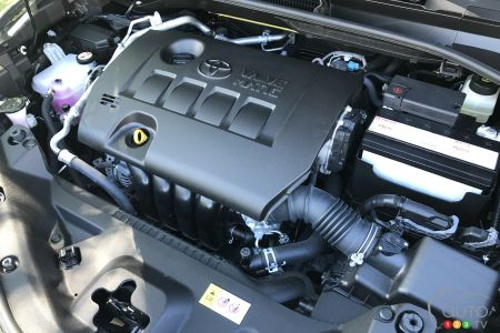 Engine of the 2020 Toyota C-HR