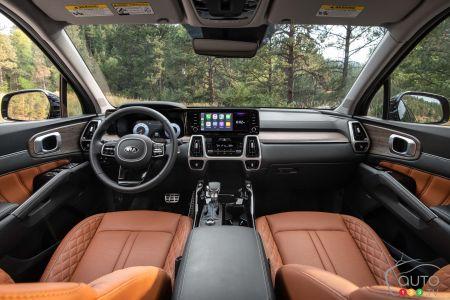 2021 Kia Sorento X-Line, interior