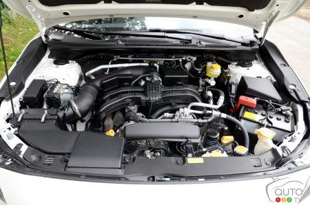 2021 Subaru Crosstrek Outdoor, engine