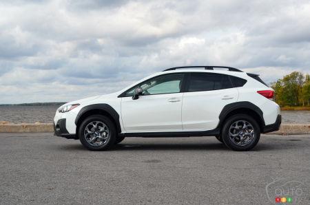 2021 Subaru Crosstrek Outdoor, profile