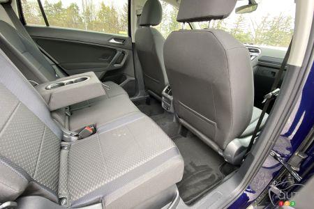 2021 Volkswagen Tiguan, second row
