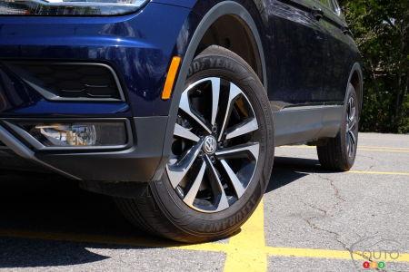 2021 Volkswagen Tiguan, wheels