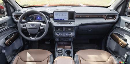 Ford Maverick, interior