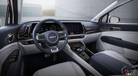 2023 Kia Sportage, interior