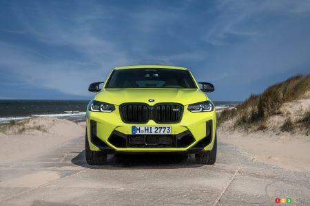 2022 BMW X4 M, front