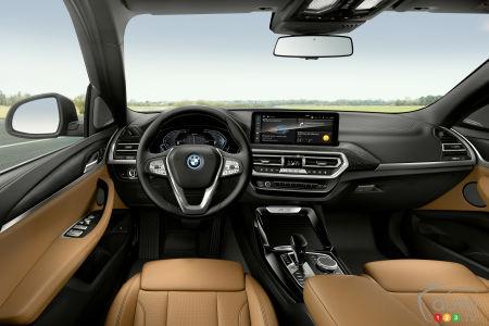 2022 BMW X3 M, interior