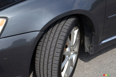 Tread of the Toyo Proxes Sport A/S tire