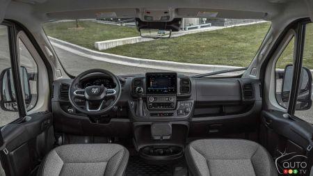 2022 Ram ProMaster, interior