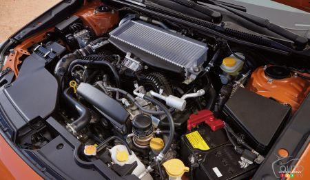 2022 Subaru WRX, engine