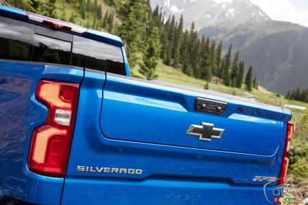 2022 Chevrolet Silverado ZR2, tailgate