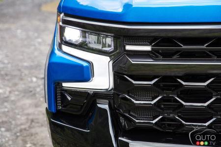 Chevrolet Silverado ZR2 2022, phare