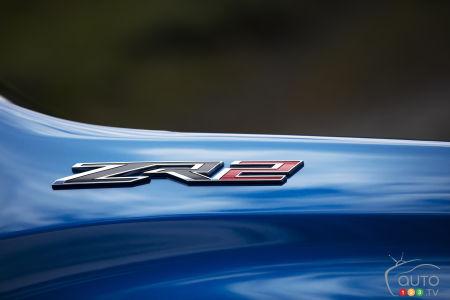 Chevrolet Silverado ZR2 2022, écusson