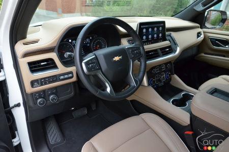 2021 Chevrolet Suburban Duramax, interior