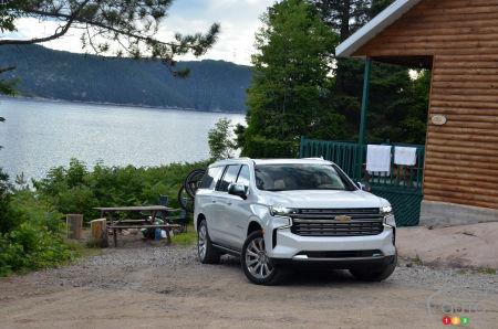 2021 Chevrolet Suburban Duramax, by the lake