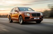 2020 Bentley Bentayga Speed 0-100