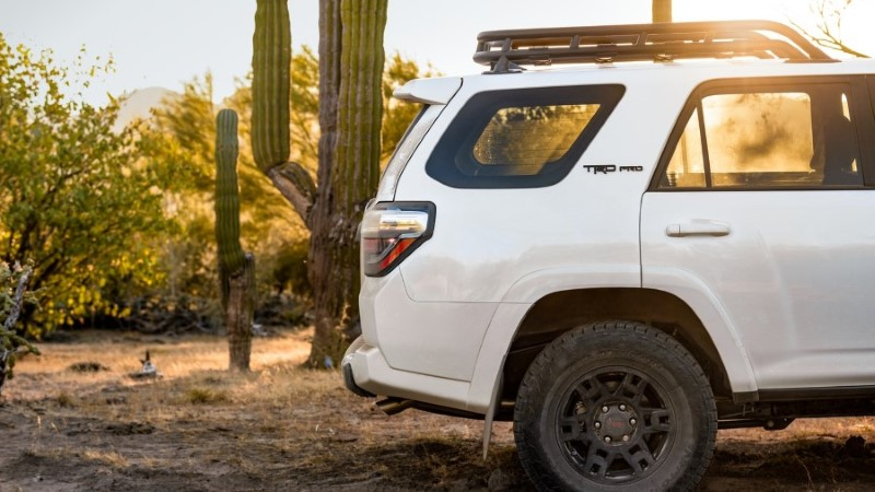 2021 Toyota 4Runner Dimensions