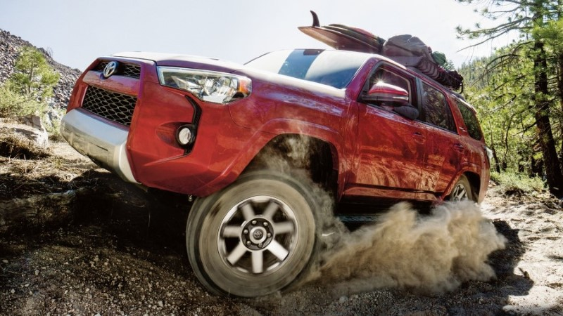 2021 Toyota 4Runner Off-Road Capabilities