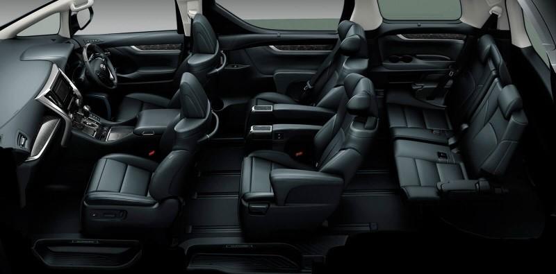 2021 Toyota Estima Interior Seat Capacity