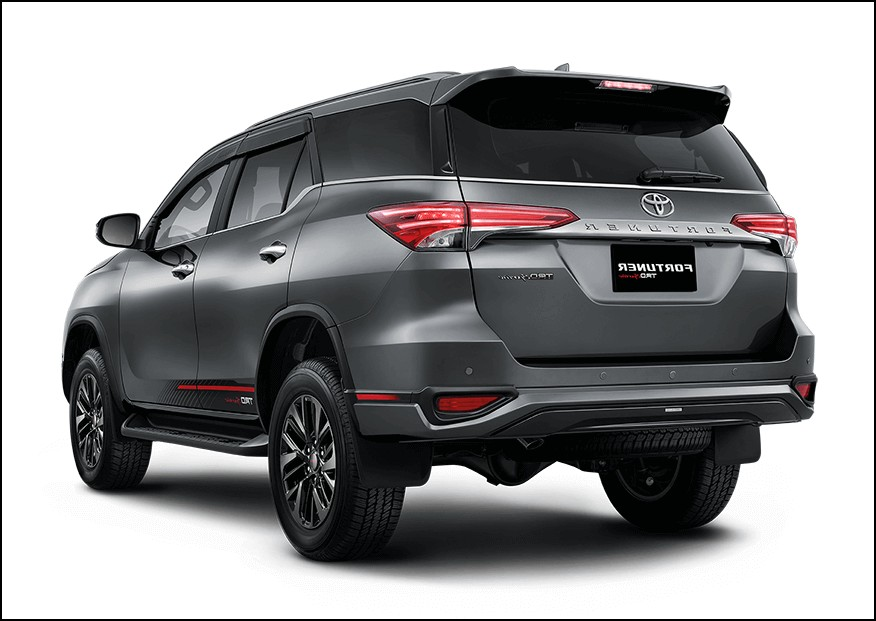2021 Toyota Fortuner Exterior Changes