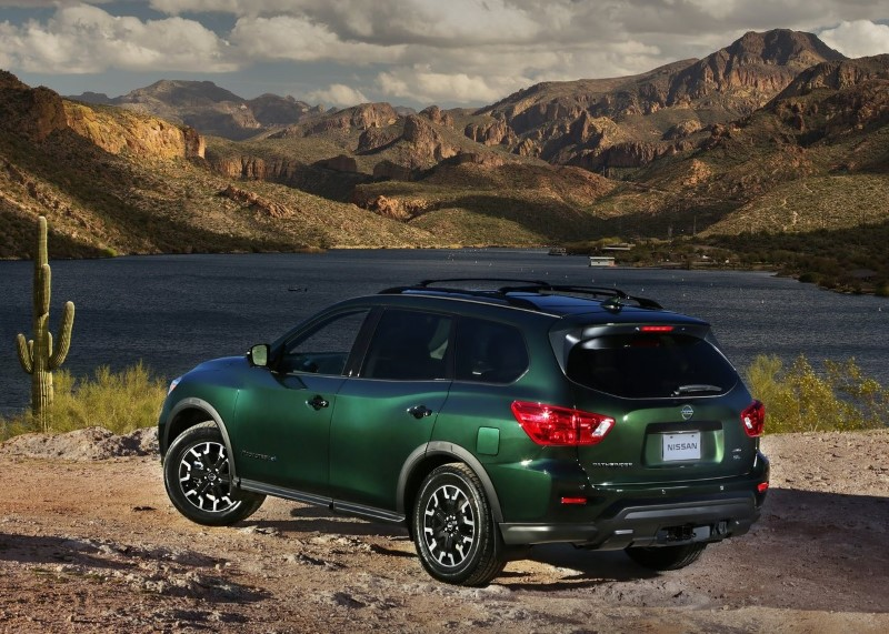 2021 Nissan Pathfinder Rock Creek Editions Images