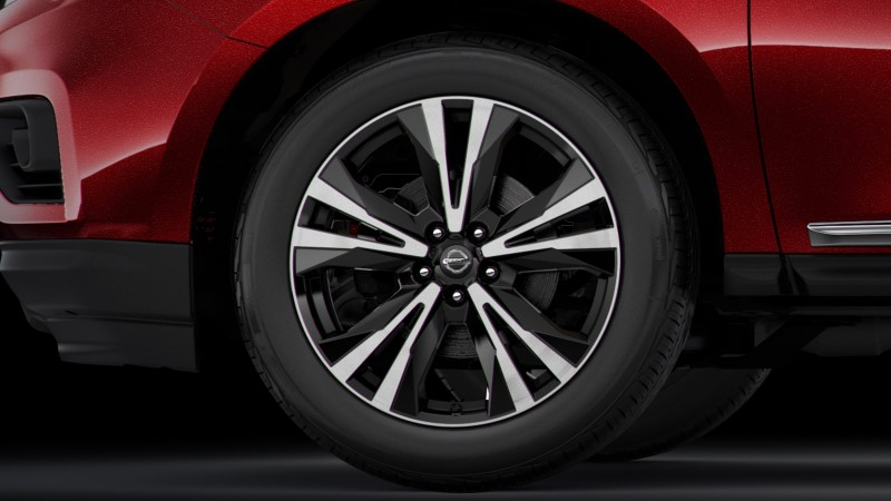 2021 Nissan Pathfinder Wheel Size