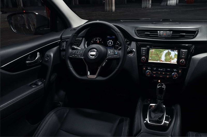 2021 Nissan Qashqai New Interior Features