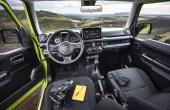 2021 Suzuki Jimny Interior Images