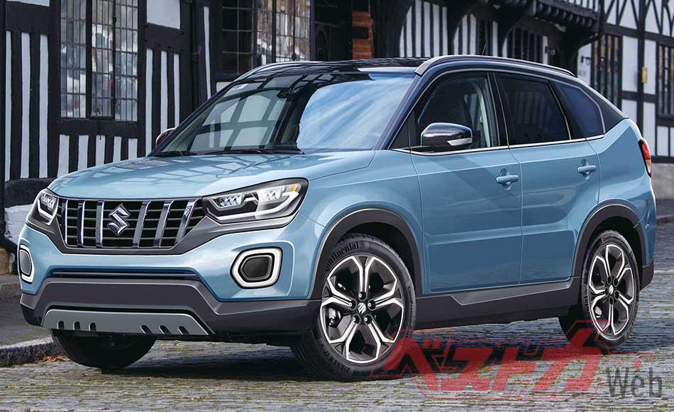 New Suzuki Vitara 2021 Rendering Images