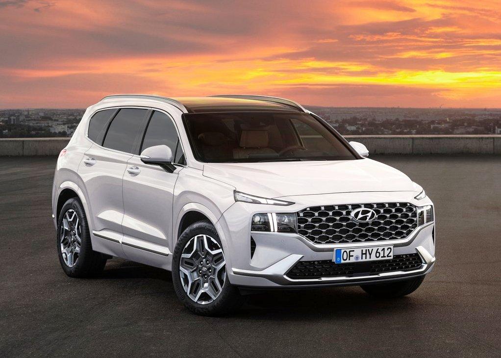 2021 Hyundai Santa Fe Facelift Exterior & Interior