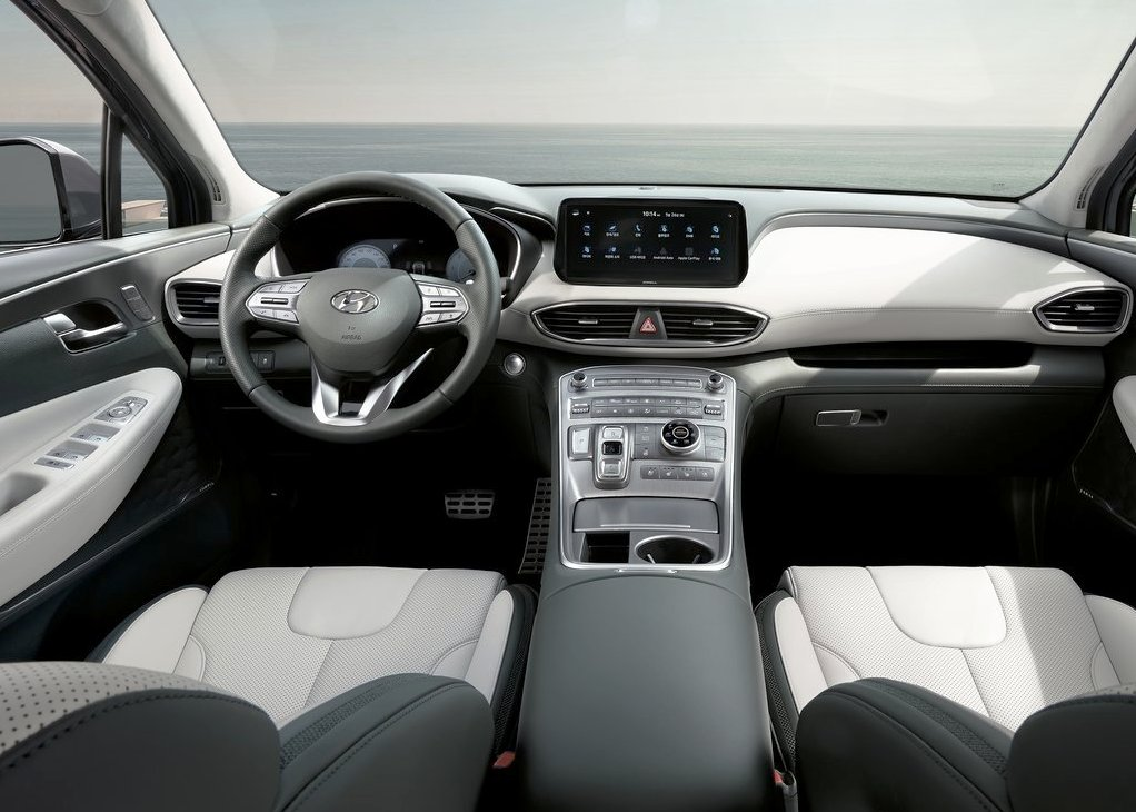 2021 Hyundai Santa Fe Fresh Interior Color
