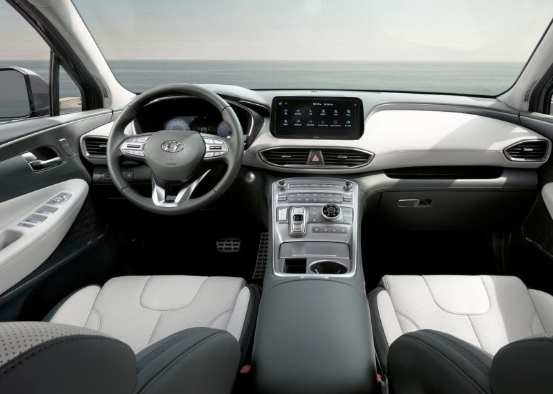 2021 Hyundai Santa Fe Fresh Interior Color