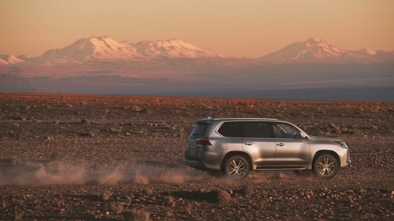 2021 Lexus LX 570 AWD Off-Road Capabilities