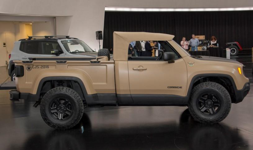 2020 Jeep Comanche Release Date