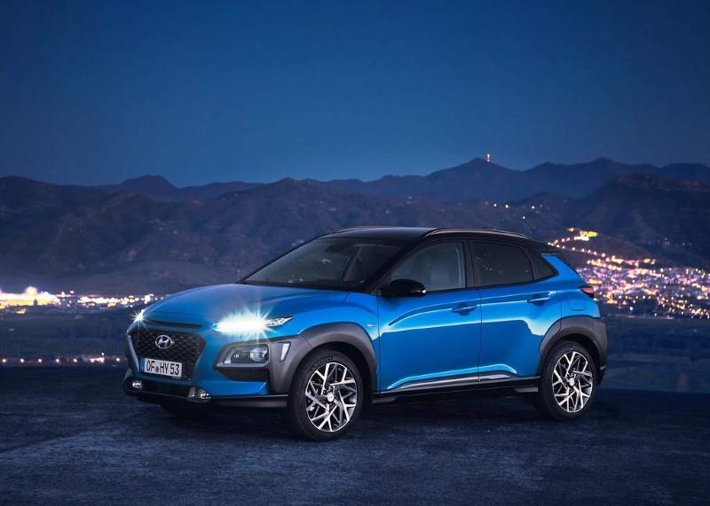 2021 Hyundai Kona Blue Color