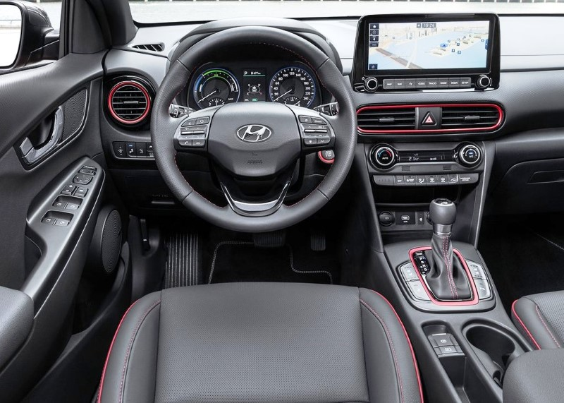 2021 Hyundai Kona Interior Features