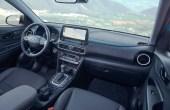 2021 Hyundai Kona Interior with Leather Seating