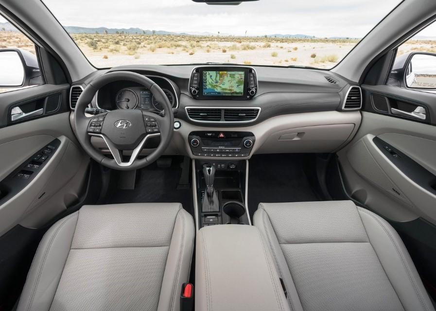2021 Hyundai Tucson Interior Features