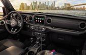 2021 Jeep Gladiator Interior Overland Dashboard