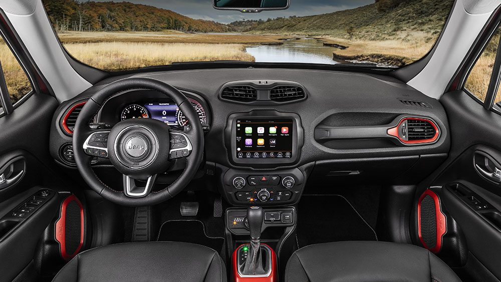 2021 Jeep Renegade New Features in Dashboard