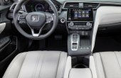 2021 Honda Insight Interior Changes with New LED and White Leather Colors