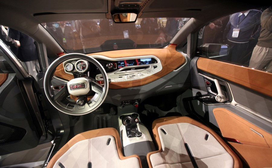 2021 GMC Granite Interior Features