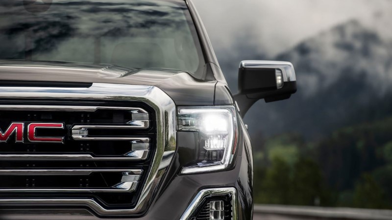 2021 GMC Sierra 1500 Front Angel With New Headlamps