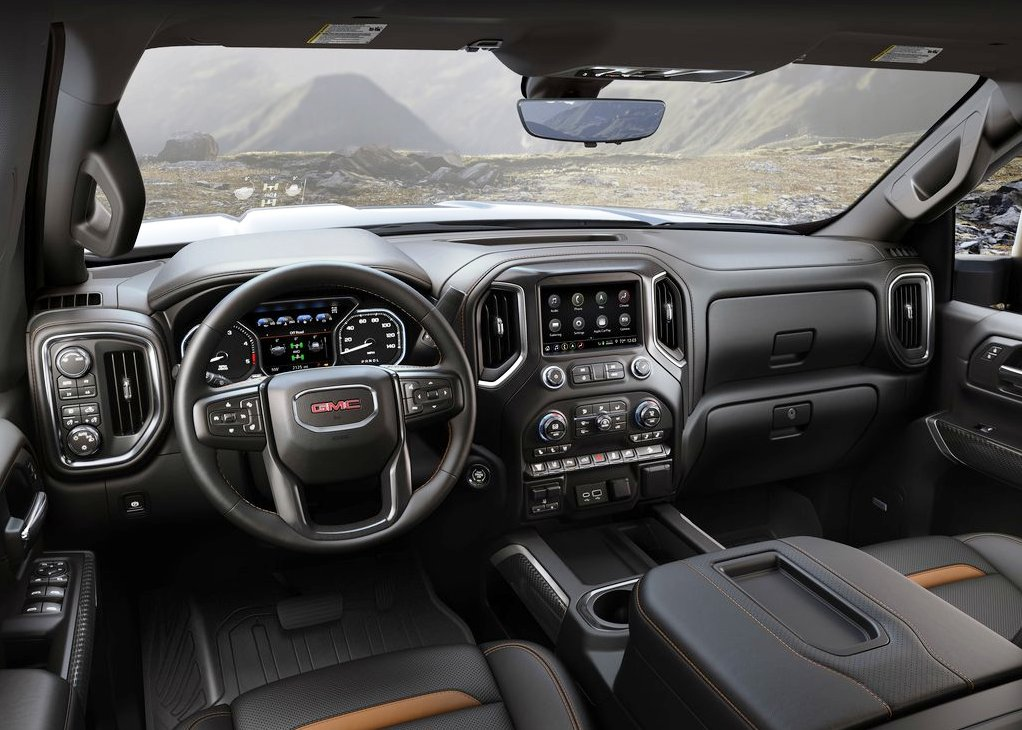 2021 GMC Sierra 2500HD Interior Changes