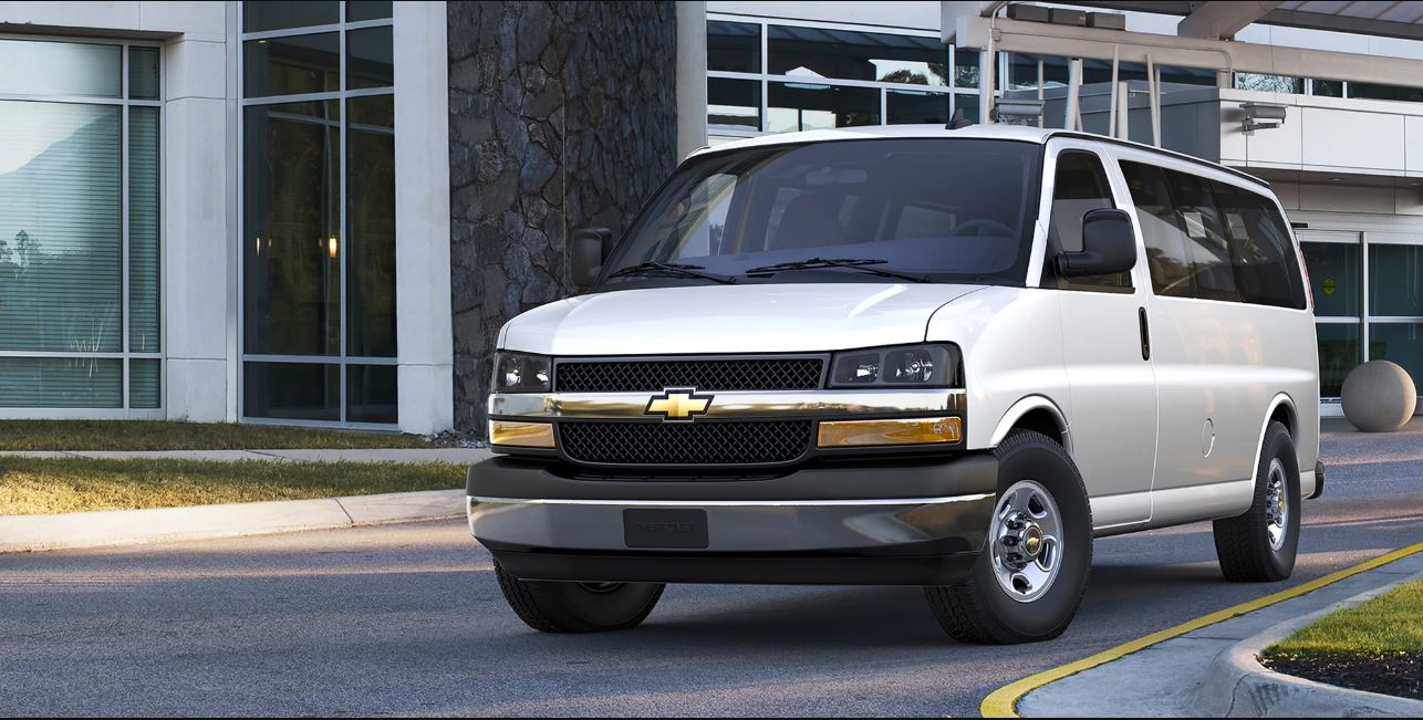 2021 Chevy Express Passenger Van Redesign