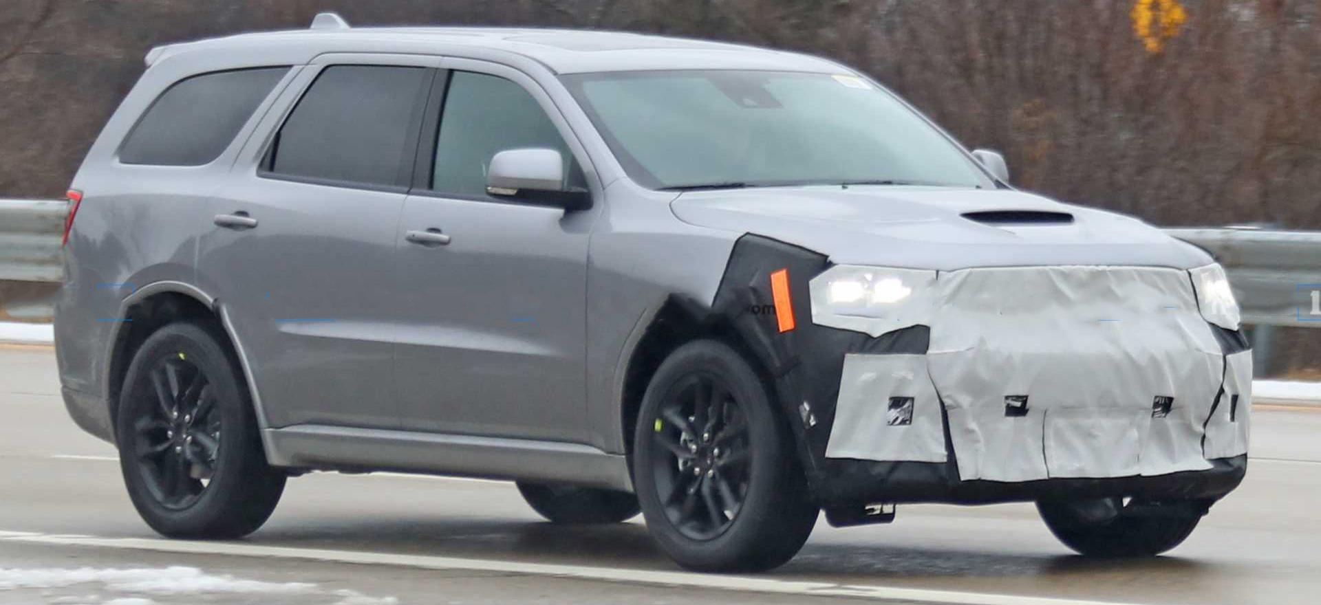2021 Dodge Durango Spied Images
