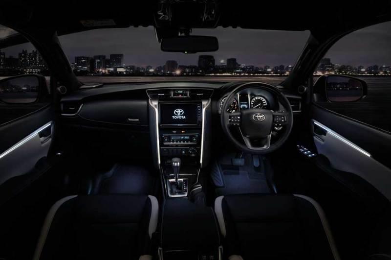 2021 Toyota Fortuner Interior Changes