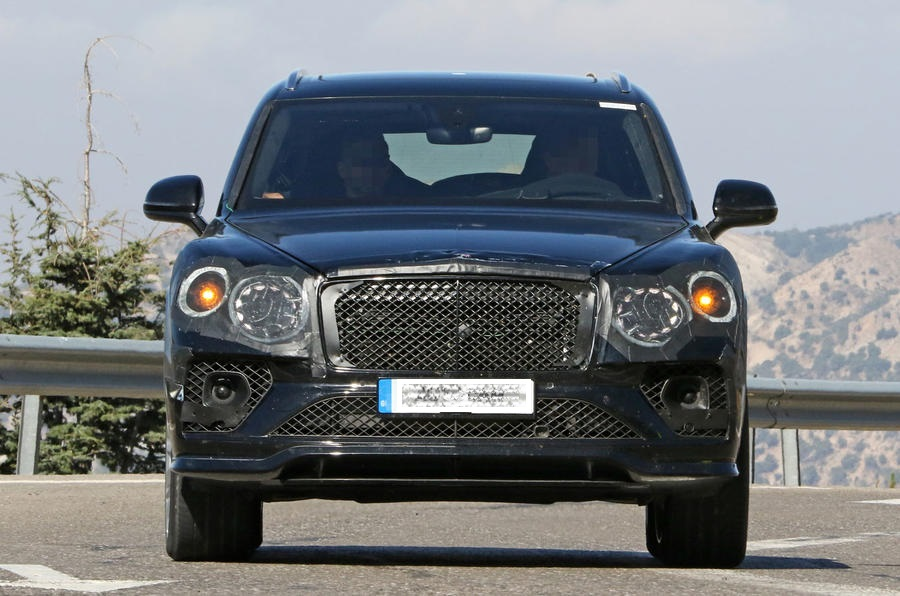 2021 Bentley Bentayga Facelift Exterior