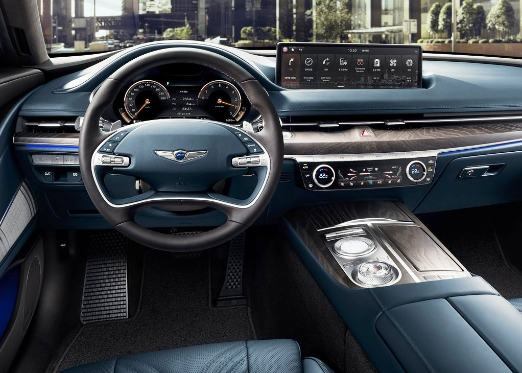 2021 Genesis G80 Interior Pictures With Hi-tech Included